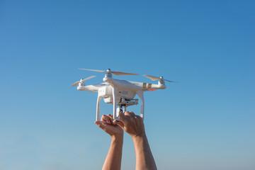 decoller un drone