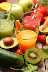 assorted vegetable juice