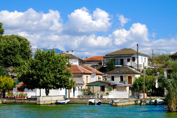 Ioannina island, Epirus region, Greece