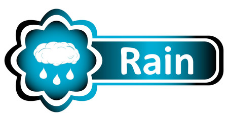 Double icon blue rain