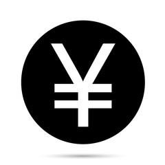 Japanese Yen or Chinese Yuan currency symbol