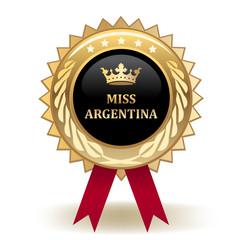 Miss Argentina Award