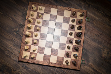 Chess Set Up Beginning