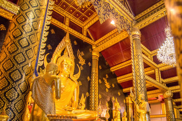 Phra phuttha chinnarat is one of the most beautiful buddha image
