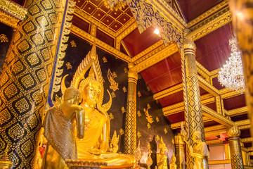 Phra phuttha chinnarat is one of the most beautiful buddha image