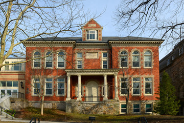 Townsend Industrial School is a historic school built in 1894 in downtown Newport, Rhode Island, USA. Now this location is Frank E. Thompson Middle School and Rogers High School.