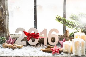 2016 Karte Weihnachten