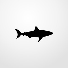 shark icon. shark sign