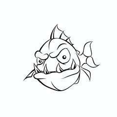 Picture evil piranha
