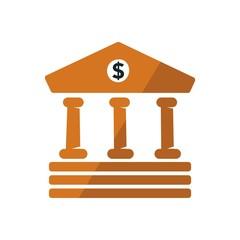Logo design banking financial business icon