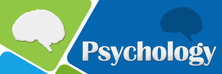 Psychology Green Blue Rounded Squares