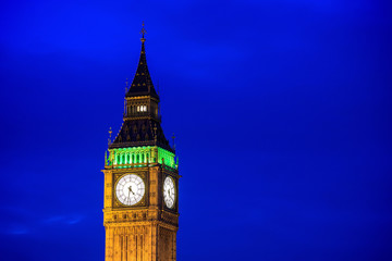 Wall Mural - Big Ben and Houses of Parliament in London