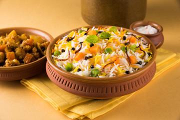 indian veg biryani, veg pulav, Indian vegetable pulav, Biriyani, vegetable Biriyani