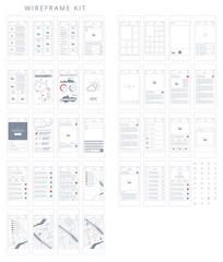 Wireframe Kit. Templates and UI elements for web, tablet and mobile devices to help speed up your UX workflow.
