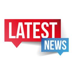 Latest News icon vector