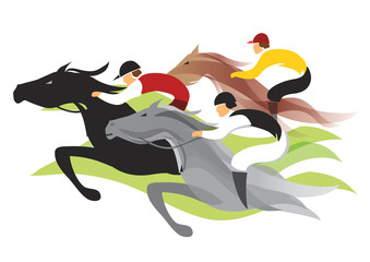Horse race.