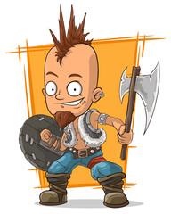 Cartoon postapokalipsis crazy punk