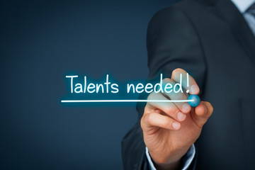 Talents needed