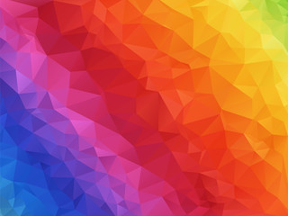 geometric spectrum rainbow texture background