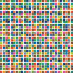Vector rainbow abstract seamless pattern