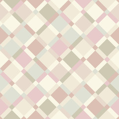Vector seamless pattern - geometric pastel color modern diagonal