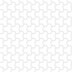 Seamless, Tessellate Tile of Gray Dodecagons on a White Backgrou