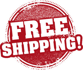 Free Shipping Promotional Stamp