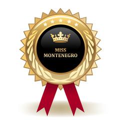 Miss Montenegro Award