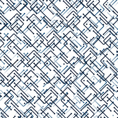Networks, Connections - Mesh Pattern - Abstract Vector Background