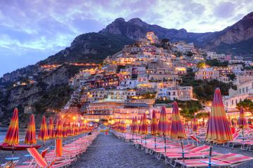 Beautiful Positano, Amalfi coast, Italy