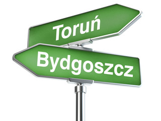 Fototapeta Bydgoszcz i Toruń obraz