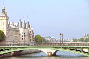 Conciergerie, Pont au Change, Paris, France