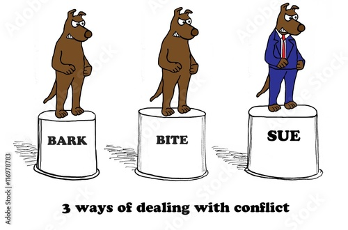 dealing with conflict Learn the five conflict management styles based on thomas-kilmann conflict so many problems come from not dealing with conflict avoidance is short-term.