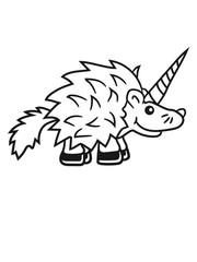 girl unicorn, horse pink funny baby goad comic cartoon sweet little cute hedgehog