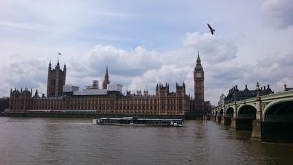 Parlament im Dunst