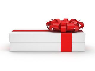 White gift box