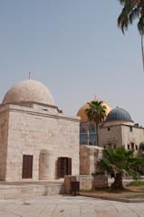 Gerusalemme: vista della Cupola della Roccia sul Monte del Tempio il 6 Settembre 2015. La Cupola della Roccia è il Santuario islamico sul Monte del Tempio