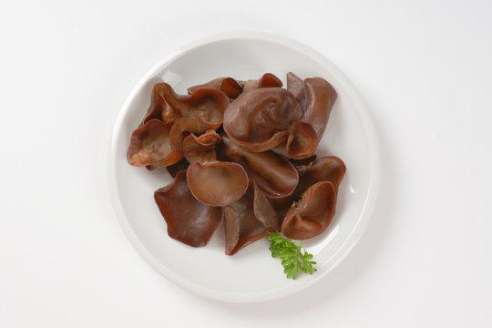 wood ear mushrooms