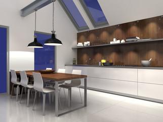 Küchenzeile, Küche, Einbauküche