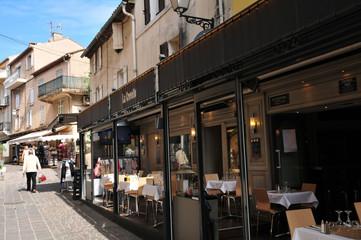 Sainte Maxime, France - april 16 2016 : the picturesque city