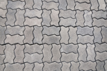 cobblestone background,Stone paving texture. Abstract pavement background