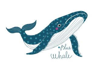 Big beautiful whale.