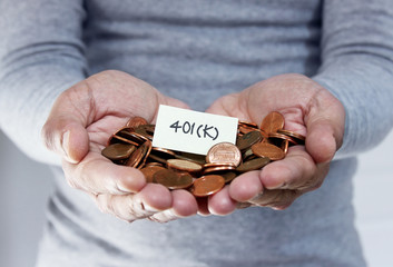 401K retirement plan and bankruptcy