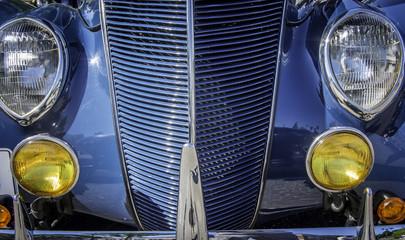 Detail of Vintage Car