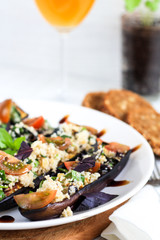 eggplant with couscous