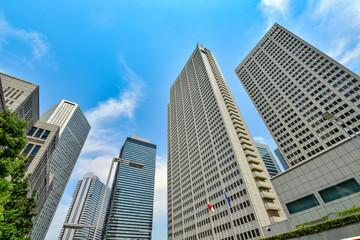 東京・新宿の高層ビル群