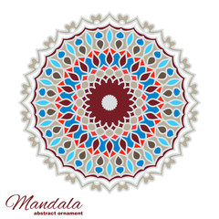 Color Mandala. Sample Background