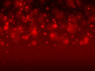 elegant red bokeh background