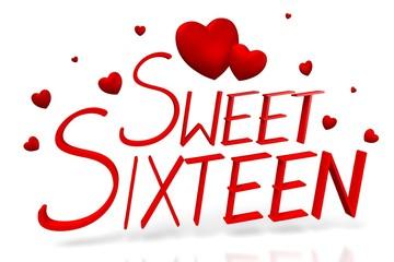 3D Sweet sixteen concept