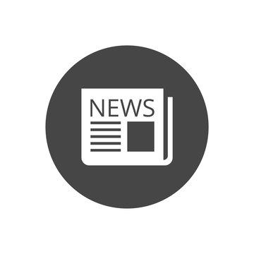 Newspaper icon, News icon